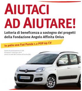 Aiutaci ad Aiutare - Lotteria di Beneficienza