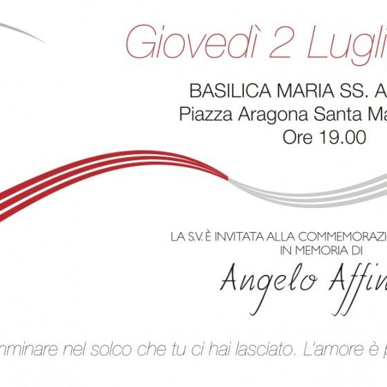 Commemorazione liturgia in memoria di Angelo Affinita - Giovedì 2 luglio 2015 Santa Maria a Vico