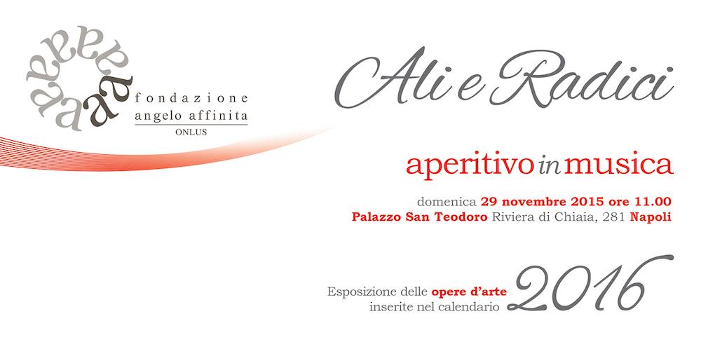 Evento presentazione calendario 2016 Fondazione Angelo Affinita
