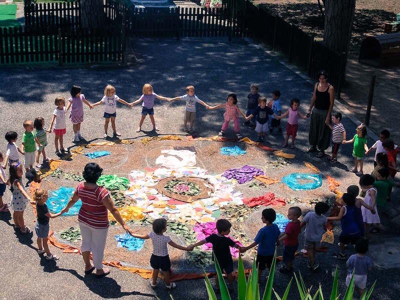Risvegliamoci in cortile il flash mob dei bambini che rivoluziona le scuole italiane, a partire da Scampia Centro Territoriale Mammut - Fondazione Angelo Affinita