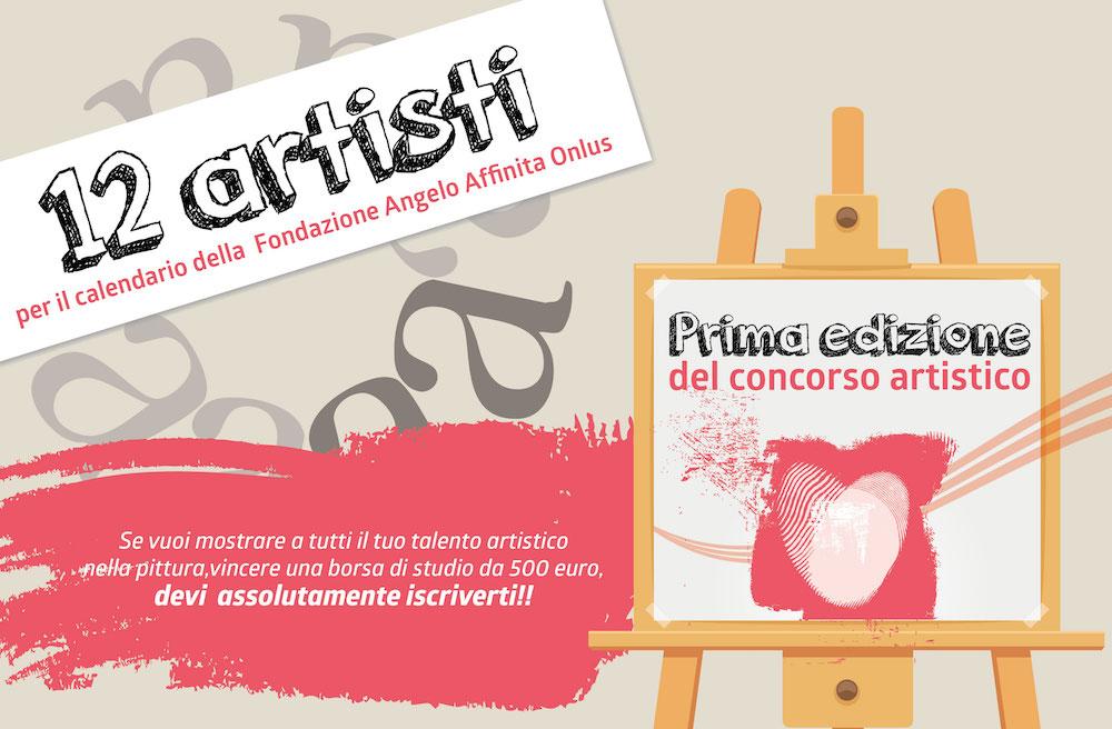 concorso artistico calendario 2017 Fondazione Angelo Affinita