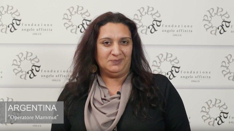 Testimonianza di Argentina Centro Territoriale Mammut sulla Fondazione Angelo Affinita