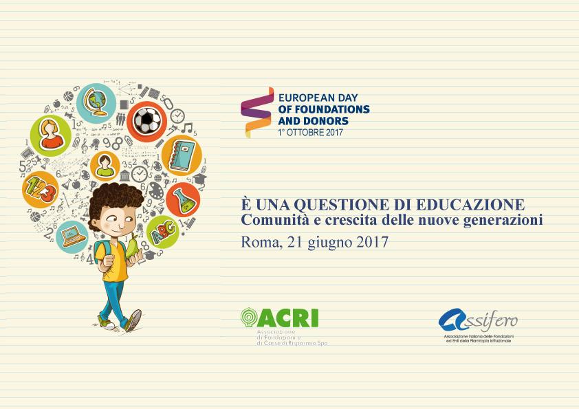 Dare un futuro ai minori in condizioni di povertà il ruolo decisivo delle Fondazioni - Fondazione Angelo Affinita