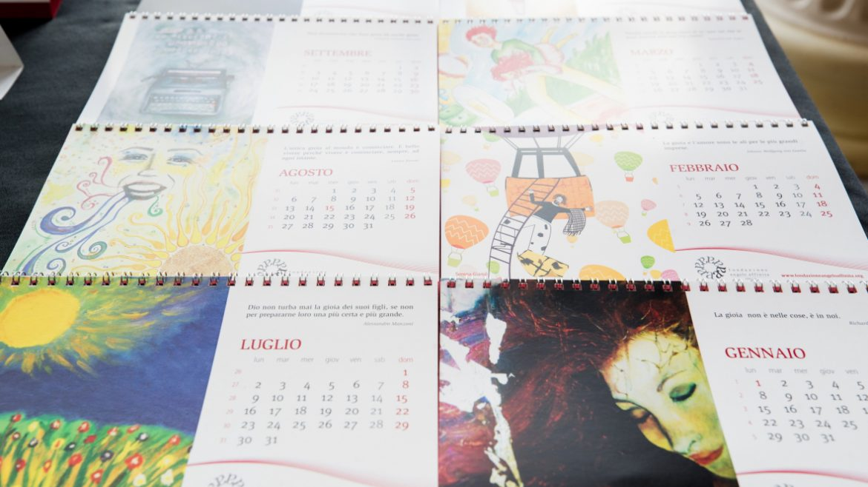 Calendario Artistico.Calendario Artistico Fondazione Angelo Affinita