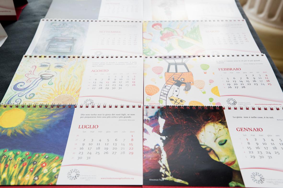 concorso artistico calendario fondazione affinita_Fondazione Angelo Affinita