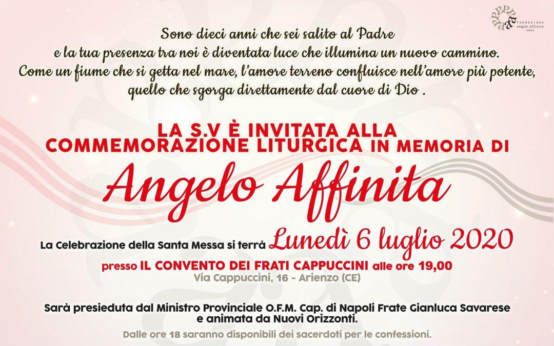 Celebrazione decennale in ricordo di Angelo Affinita
