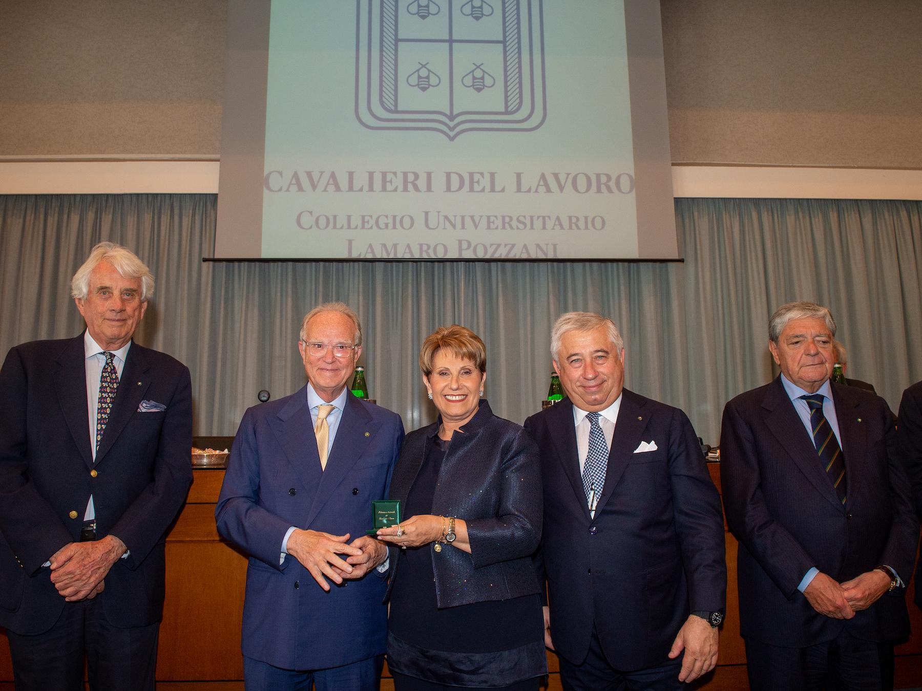 """""""Con amore e passione si ottengono risultati insperati"""": Rosanna De Lucia nominata Cavaliere del Lavoro"""