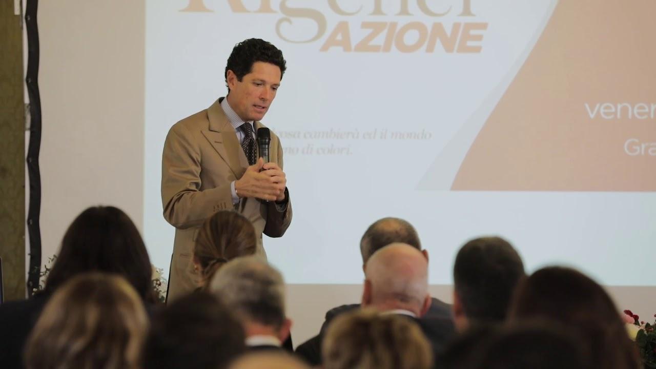 """""""Mettendo l'uomo al centro si guadagna tutti di più!"""" – Ascolta la testimonianza di Matteo Marzotto [Meeting Annuale Donatori 2019]"""